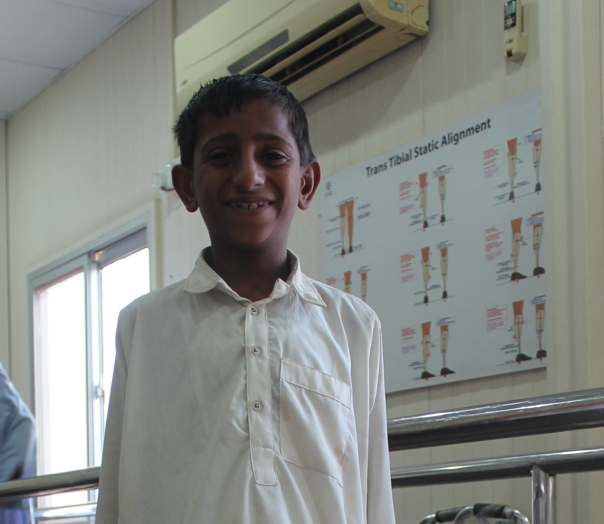 Muneeb Walks Again