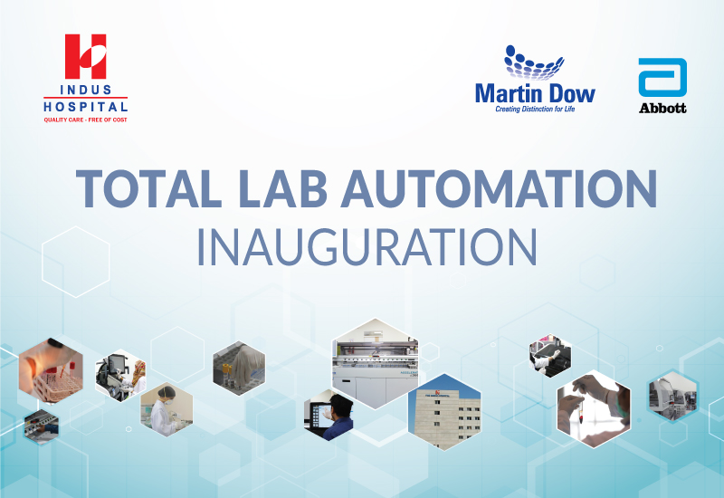 Inauguration of Total Lab Automation