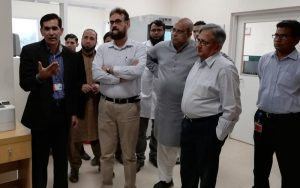 Inauguration of Central Sterile Compounding Pharmacy The Indus Hospital