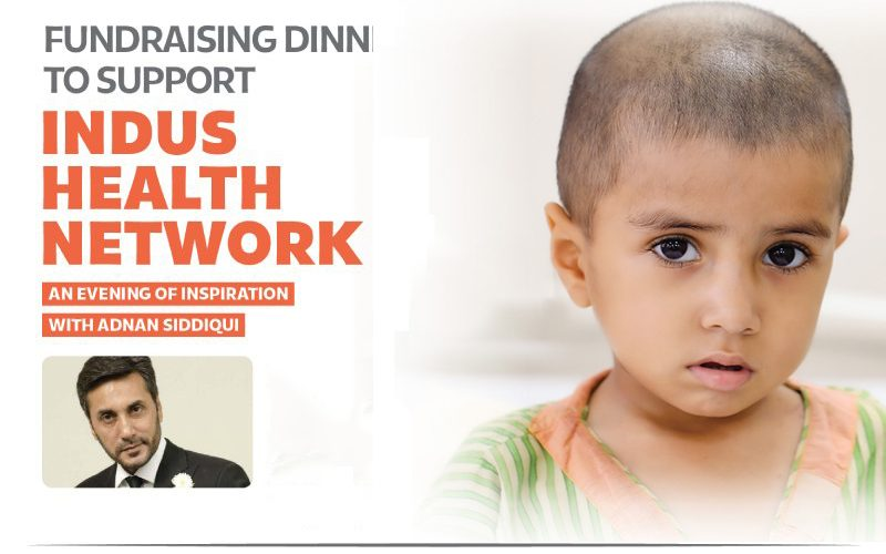 Fundraising dinner in South London to support Indus Health Network with Adnan Siddiqui