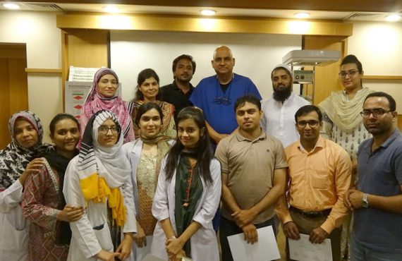 TIH Conducts Neonatal Resuscitation Workshop