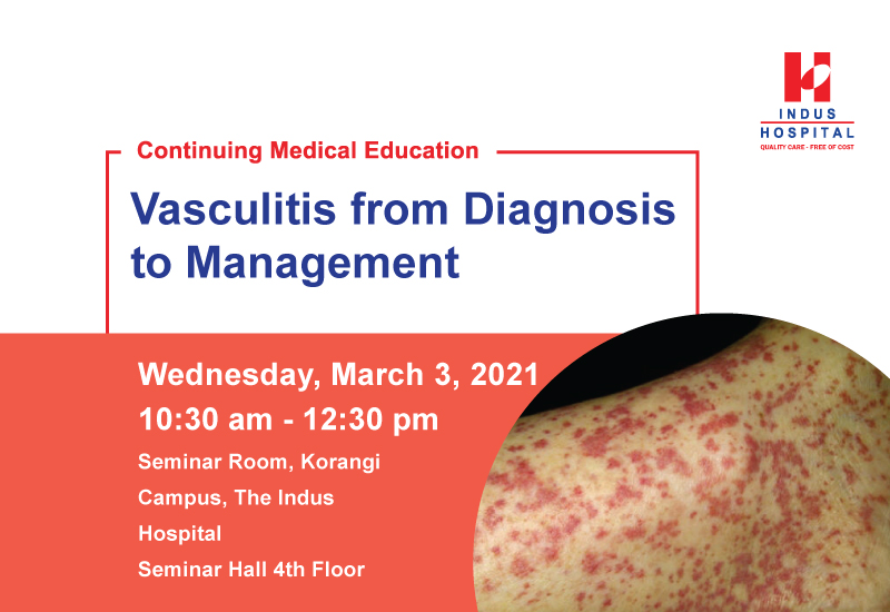 Vasculitis from diagnosis to management